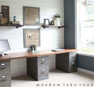 Unique Diy Home Office Decor Ideas08