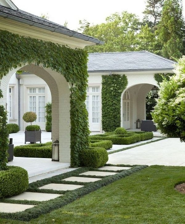 Wonderful Grass Landscaping Ideas For Home Yard01