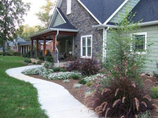 Wonderful Grass Landscaping Ideas For Home Yard17