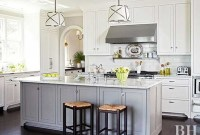 Wonderful White Kitchen Ideas With Dark Floors39