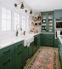 Amazing Kitchen Color Scheme Ideas For Dark Cabinets 14