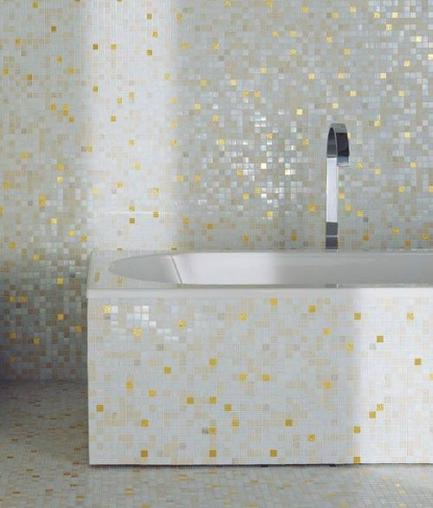 Catchy Bathroom Mosaics Design Ideas 02