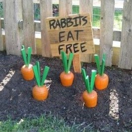 Charming Easter Ideas For Outdoor Decorations 04