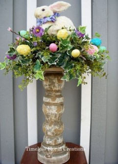 Charming Easter Ideas For Outdoor Decorations 36