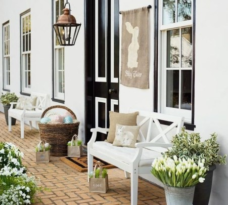Charming Easter Ideas For Outdoor Decorations 38