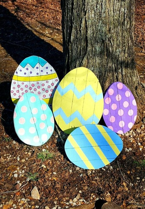 Charming Easter Ideas For Outdoor Decorations 41