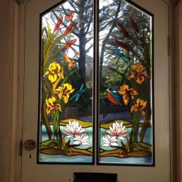 Comfy Stained Glass Window Design Ideas For Home 02