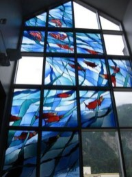 Comfy Stained Glass Window Design Ideas For Home 04
