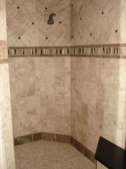 Cool Tile Pattern Design Ideas For Bathroom 11