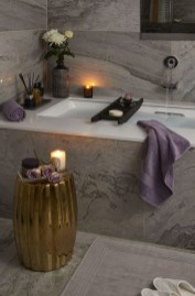 Cozy Spa Bathroom Decorating Ideas 08