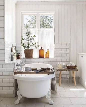 Cozy Spa Bathroom Decorating Ideas 35