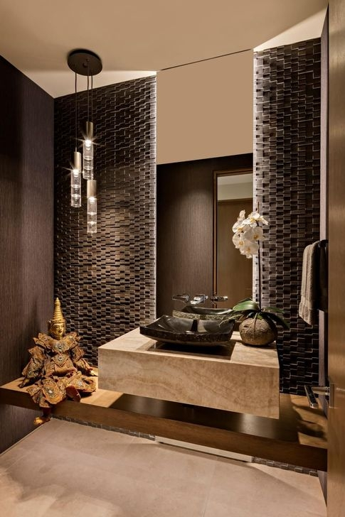 Cozy Spa Bathroom Decorating Ideas 40