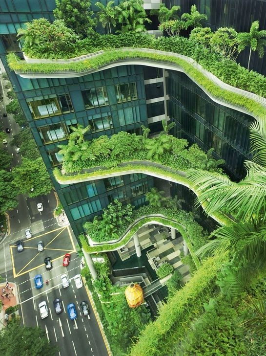 Elegant Sustainable Architecture Ideas For Green Building 40