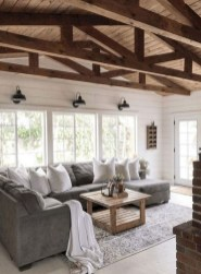 Gorgeous Farmhouse Living Room Design Ideas 27