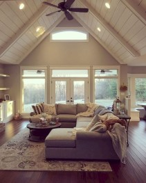 Gorgeous Farmhouse Living Room Design Ideas 40