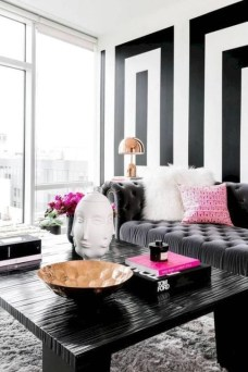 Relaxing Black And White Decor Ideas For Your Room 08