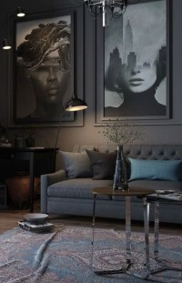 Relaxing Black And White Decor Ideas For Your Room 28