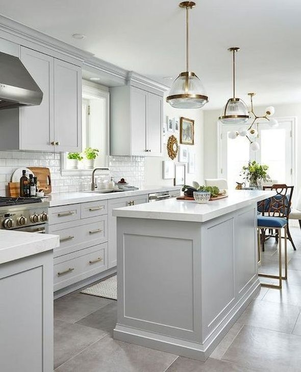Stylish White Kitchen Design Ideas 14