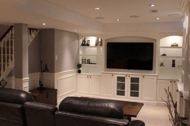 Wonderful Basement Remodel Ideas Into An Attractive Living Room 04