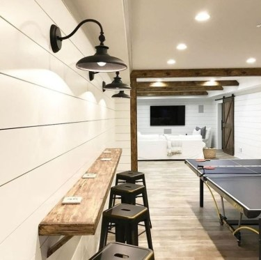 Wonderful Basement Remodel Ideas Into An Attractive Living Room 18