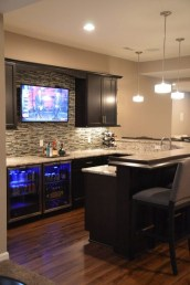Wonderful Basement Remodel Ideas Into An Attractive Living Room 25