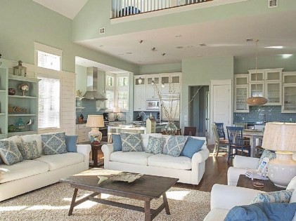 Enchanting Turquoise Living Room Ideas 01