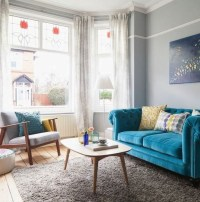 Enchanting Turquoise Living Room Ideas 08