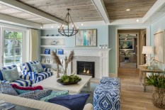 Enchanting Turquoise Living Room Ideas 22