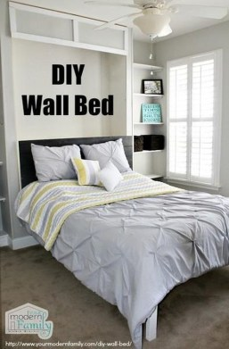 Fantastic Diy Murphy Bed Ideas For Small Space 37