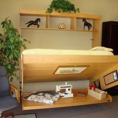 Fantastic Diy Murphy Bed Ideas For Small Space 40