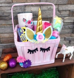 Gorgeous Easter Basket Ideas For Kids 21