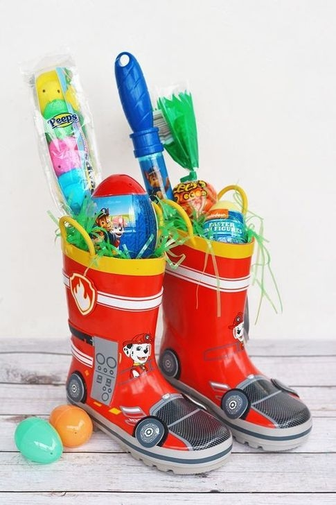Gorgeous Easter Basket Ideas For Kids 42