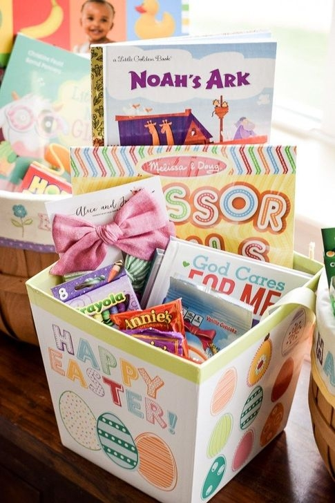 Gorgeous Easter Basket Ideas For Kids 45
