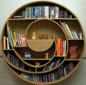 Inexpensive Bookshelf Design Ideas That Are Popular Today 28