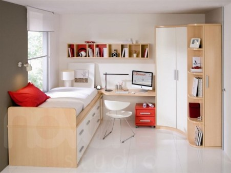 Minimalist Small Space Ideas For Bedroom And Home Office 03