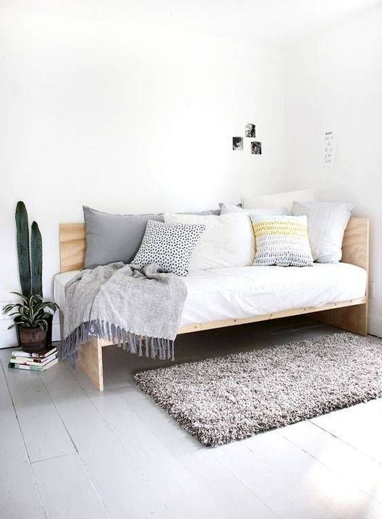 Minimalist Small Space Ideas For Bedroom And Home Office 05