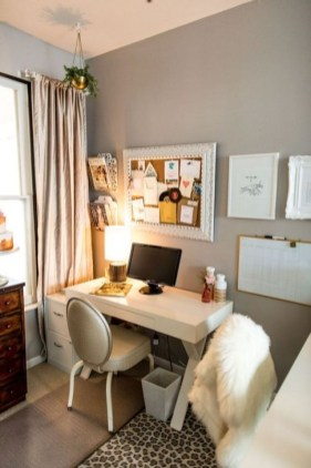 Minimalist Small Space Ideas For Bedroom And Home Office 16