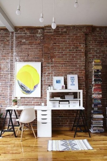 Minimalist Small Space Ideas For Bedroom And Home Office 33