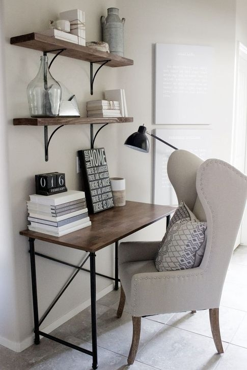 Minimalist Small Space Ideas For Bedroom And Home Office 38