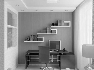 Minimalist Small Space Ideas For Bedroom And Home Office 43