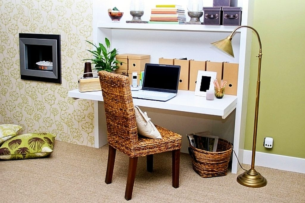 Minimalist Small Space Ideas For Bedroom And Home Office 46