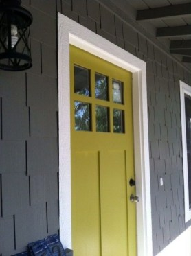 Outstanding Colorful Door Ideas For House 15