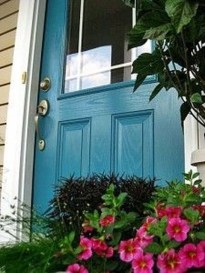 Outstanding Colorful Door Ideas For House 20