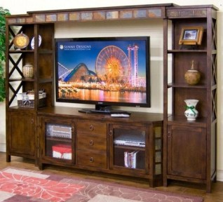 Rustic Home Entertainment Centers Ideas 06