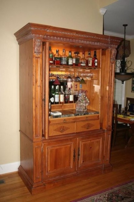Rustic Home Entertainment Centers Ideas 09
