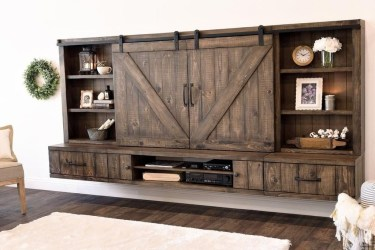 Rustic Home Entertainment Centers Ideas 40