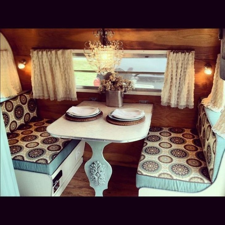 Splendid Rv Camper Remodel Ideas 41