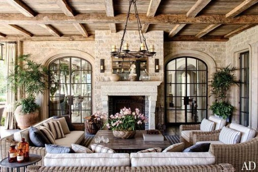 99 Adorable French Country Living Room Ideas On A Budget ...
