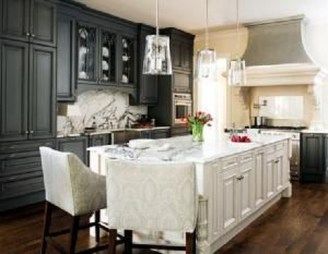 Awesome White And Clear Kitchen Design Ideas 08