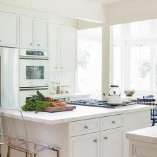 Awesome White And Clear Kitchen Design Ideas 34